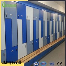 Amywell 10 years warranty Phenolic Solid color HPL z lockers pictures