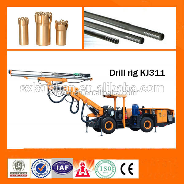 tunel mining drill machine Hydraulic Drifting Jumbo for 12-35 Square Meter Cross Section in Underground Mining Drilling