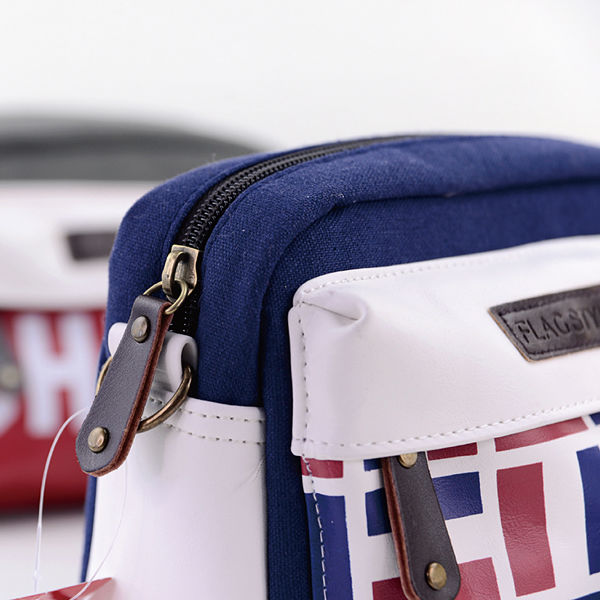 LANGUO travel cross body bag for wholesale with flag design Model:MGGQ-3027