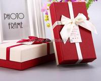 Custom cardboard wedding gift box, elegant gift box wedding favors