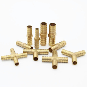 Factory Lowest Price 4 way Brass Fitting /Brass Hose Fitting Cross