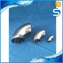 food grade/sanitary pipe stainless steel elbow connector