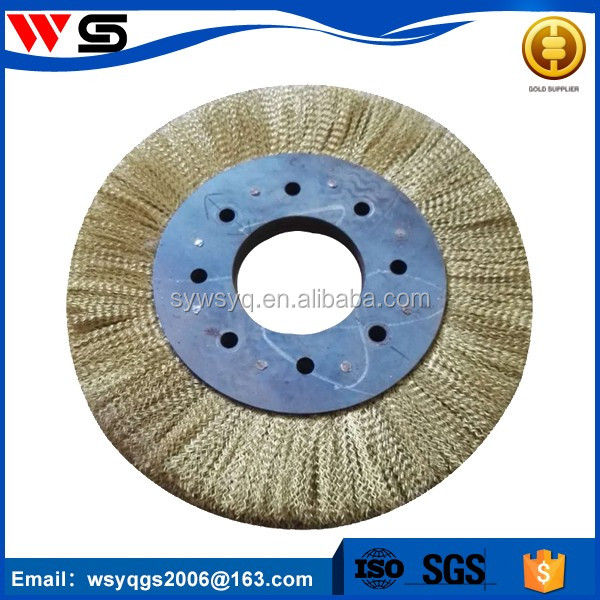 pipe cleaning stainless brass steel wire brush