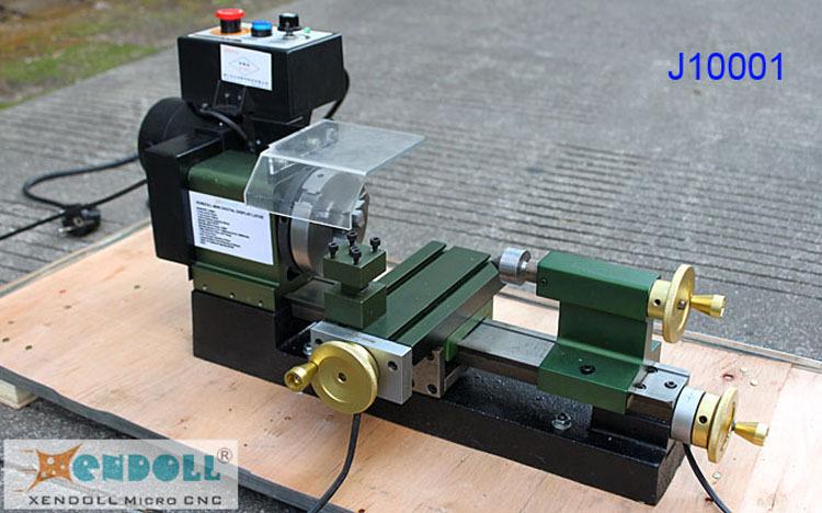 Mini tornio con display digitale j1001 a tornio micro for Mini tornio cnc