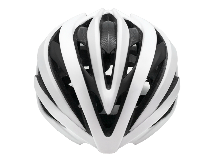 2019 Newly Design Superior In-mold Carbon Fiber Cycling Helmet 5