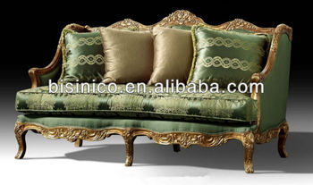 British Luxury Furniture, Victorian Style Furniture 2 Seater Sofa/Loveseat  Sofa,Bisini Part 93