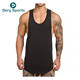 Men's Muscle Gym Workout Stringer Tank Tops Body building Fitness T-Shirts
