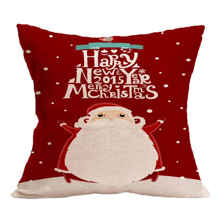 Chinese wholesale OEM&ODM customized christmas cushion pillow