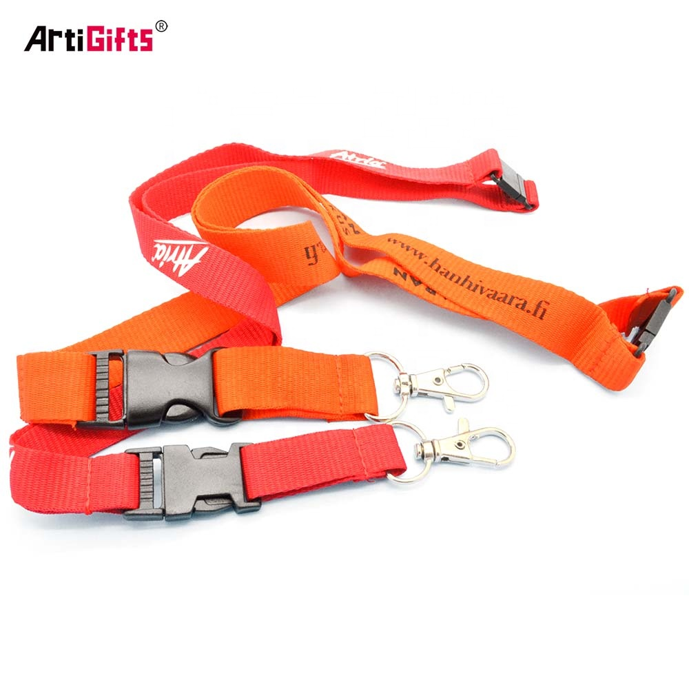 2019 Wholesale cheap tool retractable plain lanyards with custom logo
