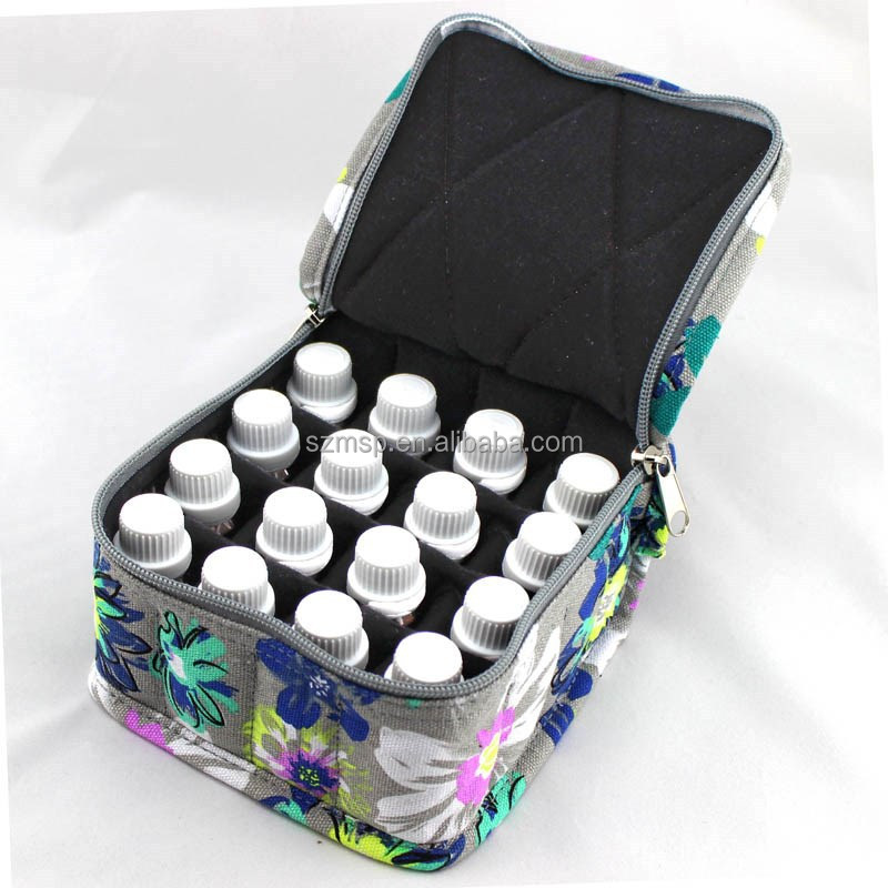Essential Oil Bag For 16 Vials X 15ml Various Print Patterns And Colors View Bottle Oem Product Details From Shenzhen Mission Sewing