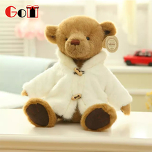 Factory Custom Wholesale Handmade Teddy Bear Plush Toys With Clothes