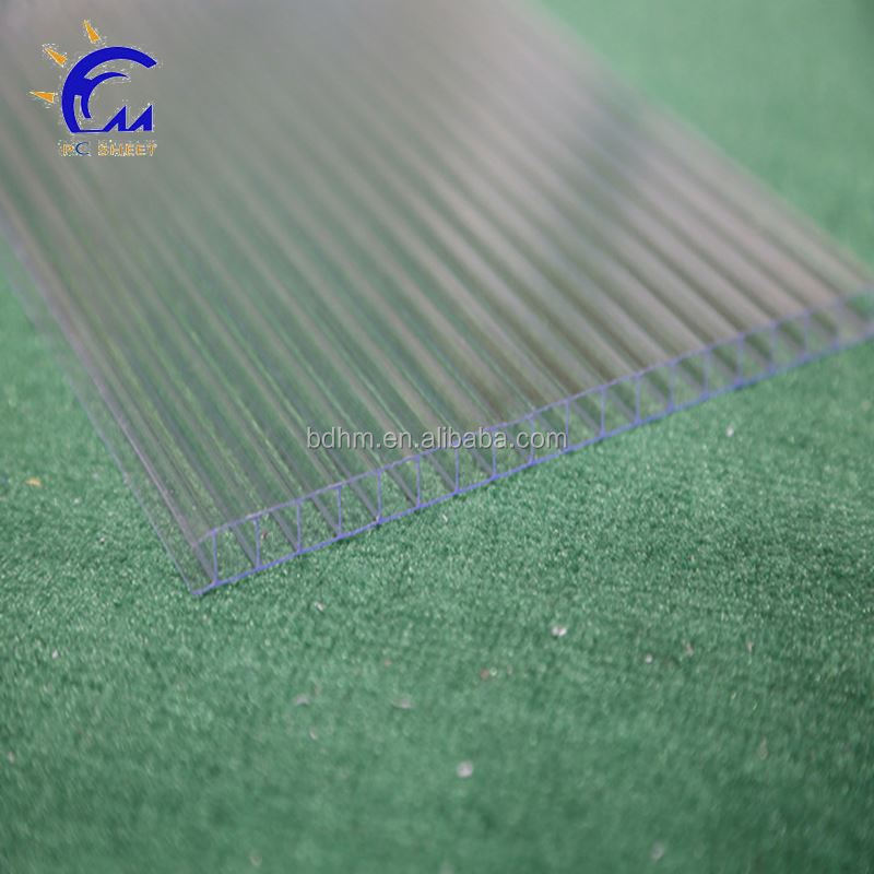 5mm polycarbonate transparant sheet for plant/green house