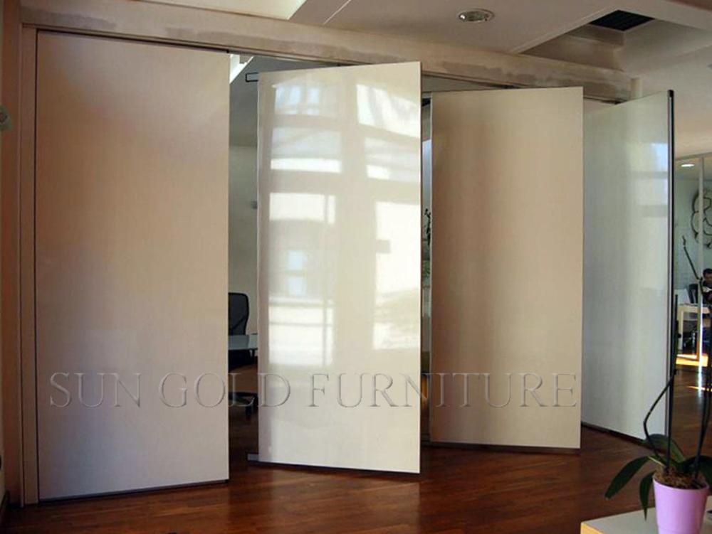 Moving bedienbaar muur duurzaam verwijderbare muur partitie sz