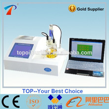Model TP-2100 Fully Automatic Karl Fischer Coulometric Method Liquid/Solid/Gas Moisture Content Analyzer