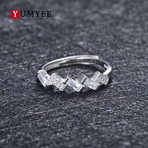 925 Sterling Silver Women Rings,Stylish Fashion Rings Jewelry Vogue Adjustable Statement Latest Ring