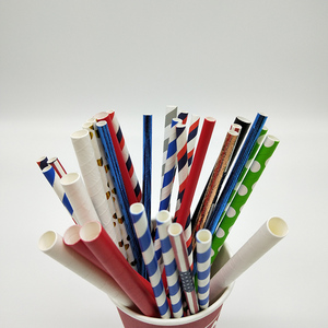 Stocked Big Sale Recycled Mixed Cool Drinking Paper Straws
