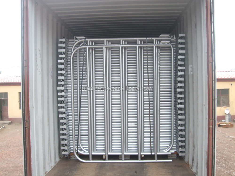 Galvanised portable metal cattle panel tractor supply