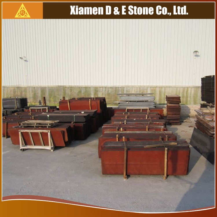 Dyed G655 G657 Chili Red Granite Stone Slab