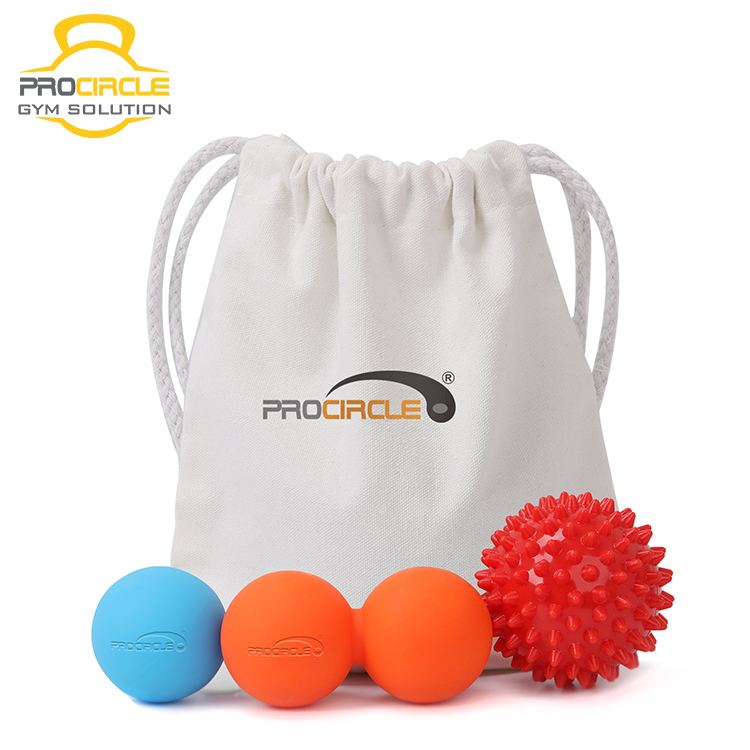 Natural Rubber Physio Therapy Lacrosse Massage Silicone Ball