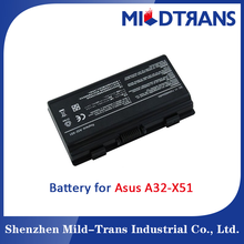 11.1v 4400mah laptop battery for Asus A32 x51 laptop battery