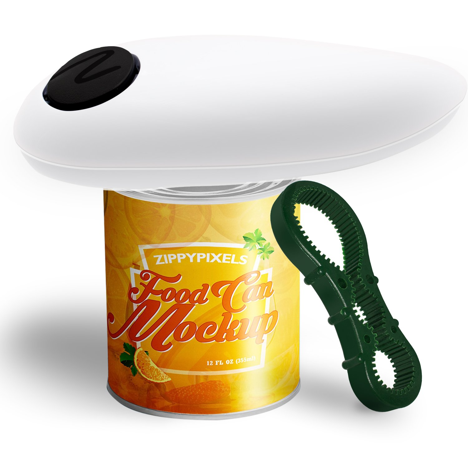 Electric Can Opener with Smooth Edges for Seniors, White Kitchen Aid (White(New))
