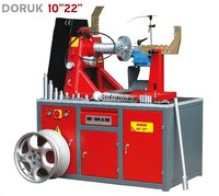 "DORUK 10""-28"" Rim repair machine"
