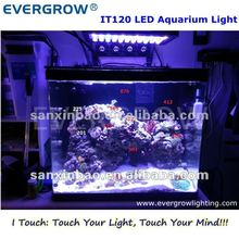 120W LED Lamp Dimmable BridgeLux Coral Reef Aquarium Light Marine Moon Lighting 2012 New