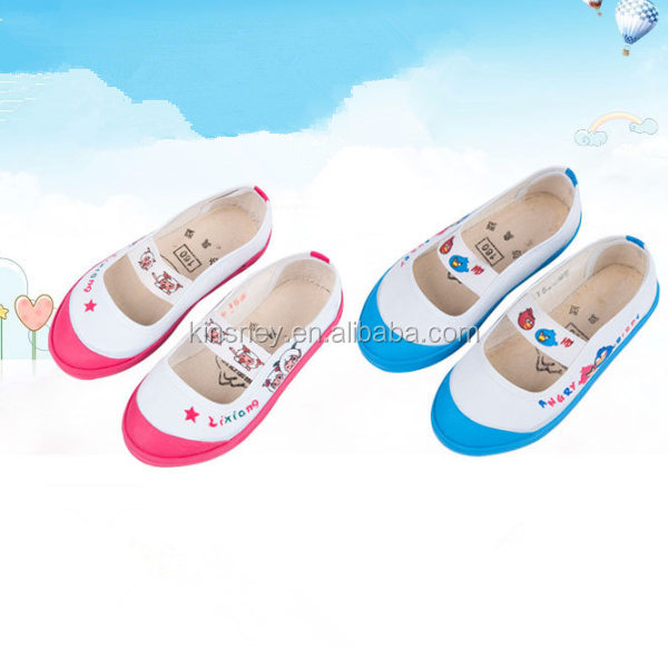 KS40127S Latest design canvas shoes children casual shoes used shoes for sale