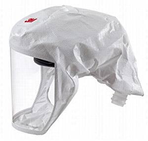 Versaflo(TM) Headcover, M/L, White, PK5
