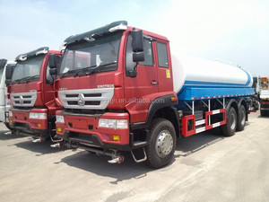 hot sale low price Golden Prince Water tank truck 6x4 used water truck