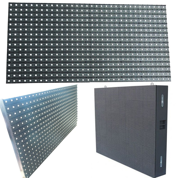 high brightness outdoor waterproof large advertising full color SMD led screen module p10