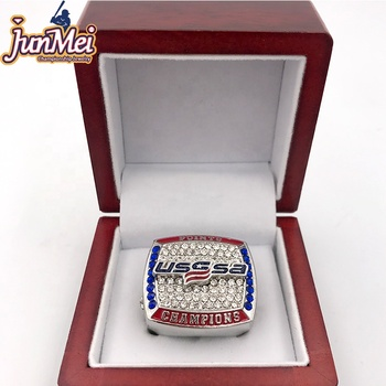 Factory seller 2019 USSSA points NC states baseball custom tournament championship rings for baseball teams