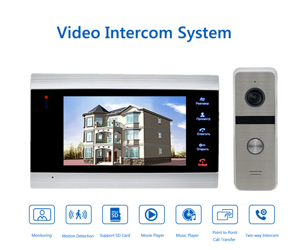 Bcomtech New launched doorbell camera smartphone With Motion Detection  function