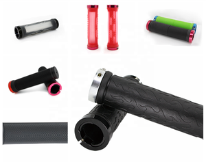 TPR Material Soft Rubber Mountain Bicycle Grips Cycling Handle Bar mtb grips