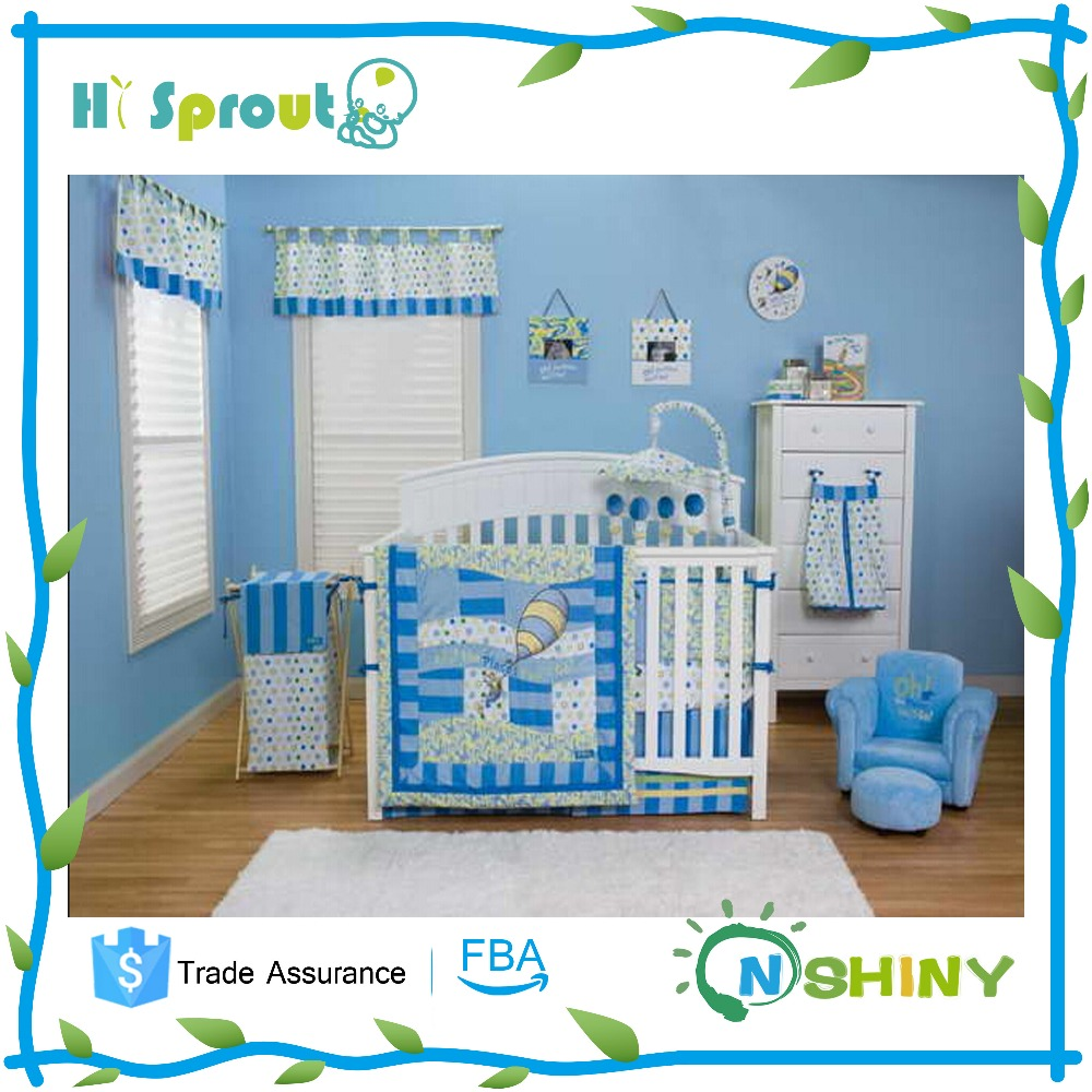 Professional Supplier Baby Crib with Sheep Bedding Sets