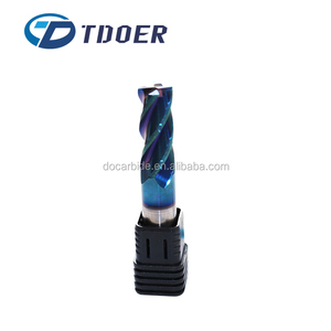 China factory solide carbide end mill tungsten carbide cnc cutting tools
