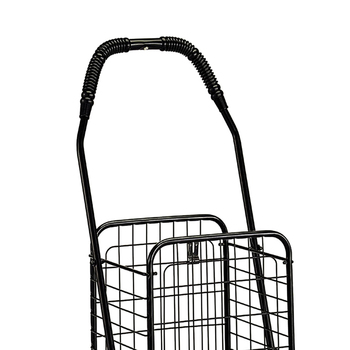 Wire Basket Cart | Supermarket Metal Wire Basket Carts With 4 Wheels Buy Shopping