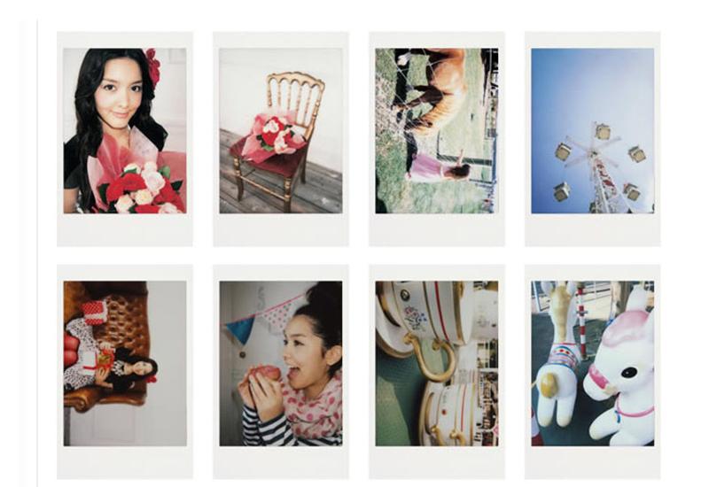 Fujifilm Instax мини фильм для мгновенной фотографии мини 8 7 s 25 50 s 90 белый край 3 дюймов пленка фотобумага