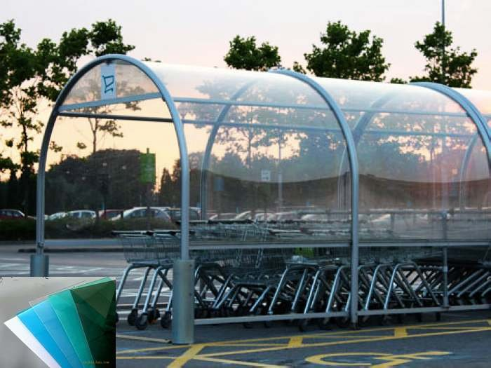 Chapa de 1mm de pet transparente para techos hojas de - Laminas de plastico transparente ...