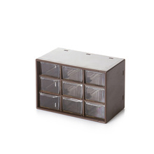 Tafel Diversen Multifunctionele Plastic 9 Lades <span class=keywords><strong>Compartiment</strong></span> Cube Opbergdoos