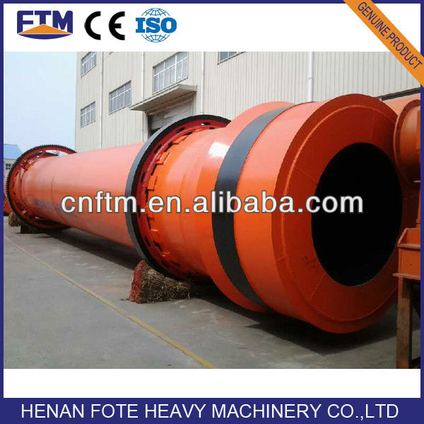 Low fuel consumption drying machine for slag, clay, limestone, coal