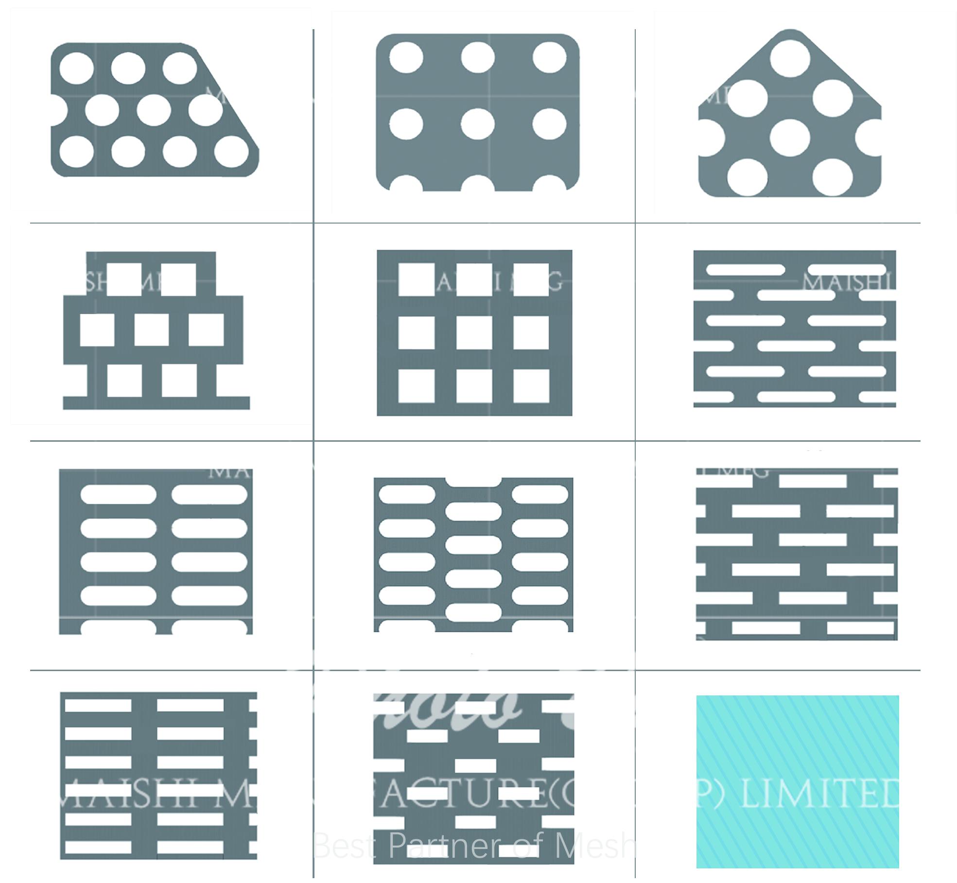 High Grade Perforated Sheet Metal Mesh/ Perforated Mesh
