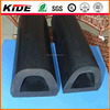 extruded rubber D shaped rubber fender welting