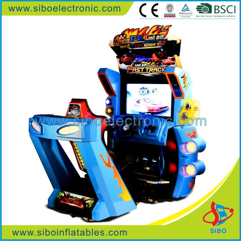 coin operated simulator car racing arcade game machine,basketball game machine,claw crane vending machines for sale