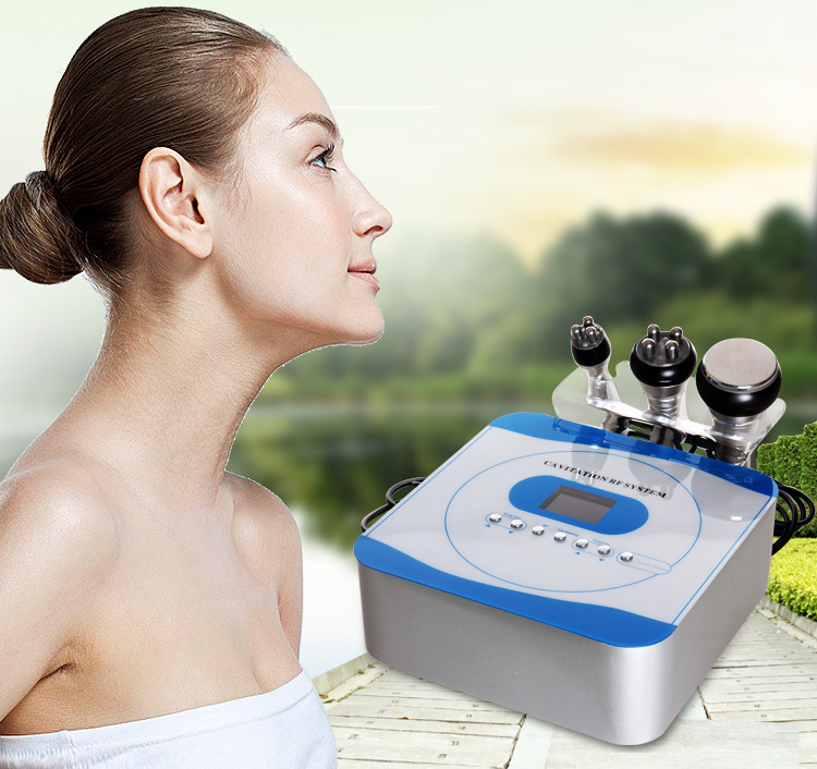 2017 Hot sale portable 3 in 1 rf cavitation body slimming machine for weight loss