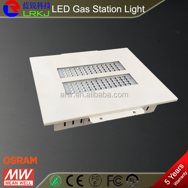 80w led high bay light 120 degree gas station led canopy for gas station