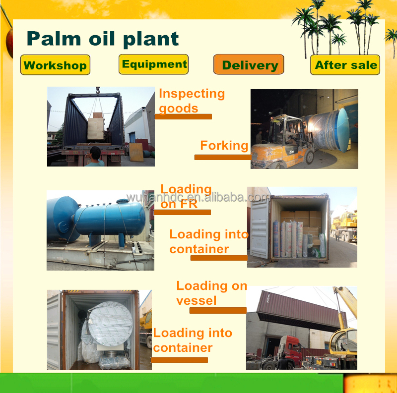 Malaysia African Market Popular Palm Oil Processing Machine Palm ...