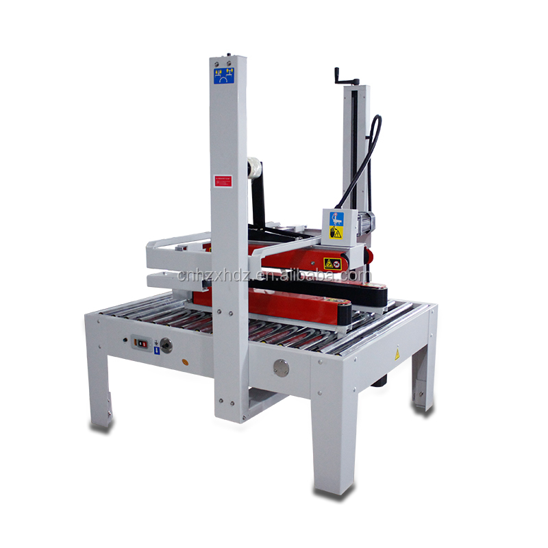 FXJ-8070B Semi-Auto Top & Bottom Gedreven Carton Sealer doos sluitmachine case sealer carton tikken machine