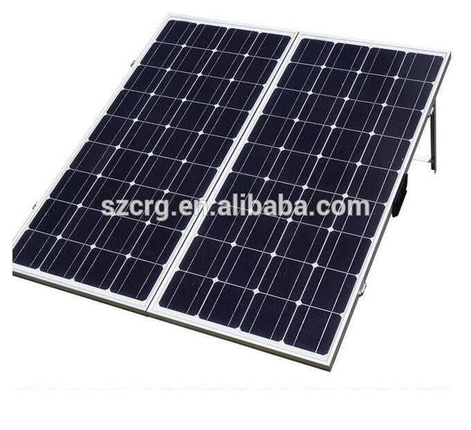 foldable sunpower battery solar panel kits for home grid system