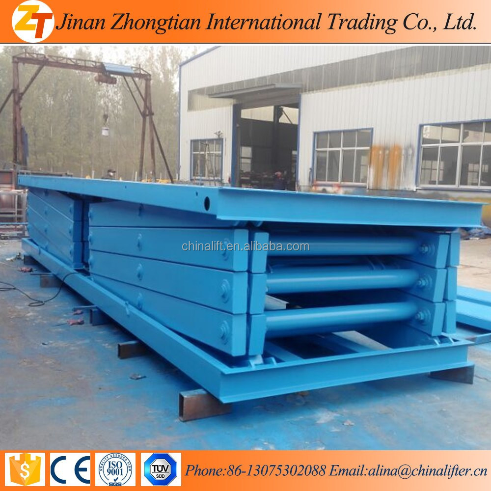 3ton scissor lift platform, warehouse scissor lift with large capacity for sale